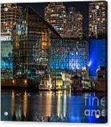 Vancouver Plaza Of Nations - By Sabine Edrissi Acrylic Print