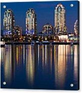 Vancouver Postcard Acrylic Print