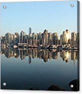 Vancouver Reflected Acrylic Print