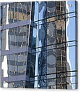 Vancouver Reflections Acrylic Print
