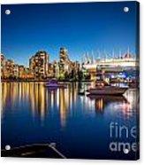 Vancouver Skyline - By Sabine Edrissi Acrylic Print