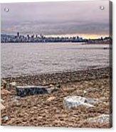 Vancouver Skyline From Jericho Beach Acrylic Print