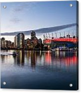 Vancouver Skyline With Bc Place Acrylic Print