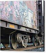 Vandalise This Acrylic Print by Sheldon Blackwell