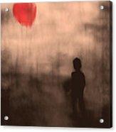 Vanishing Sun Acrylic Print by Bob Orsillo