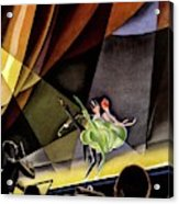 Vanity Fair Cover Featuring Two Performers Acrylic Print
