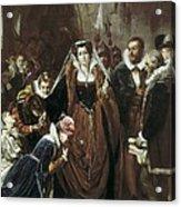 Vannutelli, Scipione 1834-1894. Mary Acrylic Print
