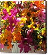 Vase Flowers Acrylic Print