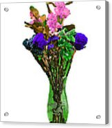 Vase Of Flowers Acrylic Print
