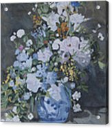 Vase Of Flowers - Reproduction Acrylic Print