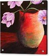 Vase Acrylic Print by Whitney Nanamkin