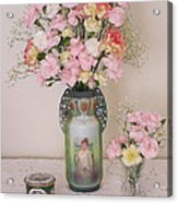 Vases Pink Cast And Trinket Box Acrylic Print