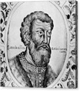 Vasily II (1415-1462) Acrylic Print