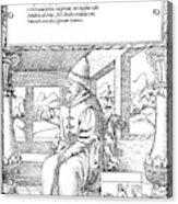 Vasily IIi Ivanovich (1479-1533) Acrylic Print