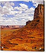 Vast Desert - Monument Valley - Arizona Acrylic Print