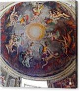 Vatican Ceiling Fresco 1 Acrylic Print