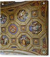 Vatican Ceiling Fresco 2 Acrylic Print