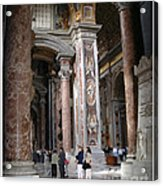 Vatican Interior Acrylic Print