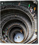 Vatican Spiral Staircase Acrylic Print