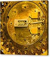 Vault Door Acrylic Print by Eric Bott