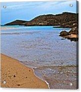 Vega Baja Beach 2 Acrylic Print