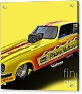 Vega Funny Car Acrylic Print