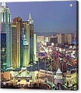 Vegas Skyline Acrylic Print