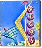 Vegas Street Art Acrylic Print