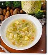 Vegetable Soup Acrylic Print