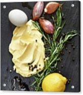 Vegetables II Acrylic Print