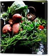 Vegetables. Still Life Acrylic Print