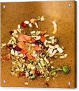 Veggie Flakes Acrylic Print