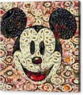 Veggie Mickey Mouse Acrylic Print
