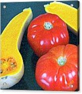 Veggies And Colors Acrylic Print