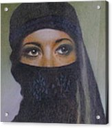 Veiled Beauty  Acrylic Print