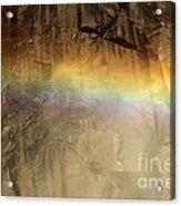 Veiled By A Rainbow Acrylic Print