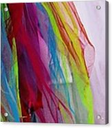 Veiled Color Acrylic Print