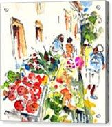 Velez Rubio Market 03 Acrylic Print