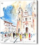 Velez Rubio Townscape 02 Acrylic Print