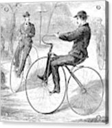 Velocipedes, 1868 Acrylic Print