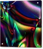 Velvet Splash Acrylic Print