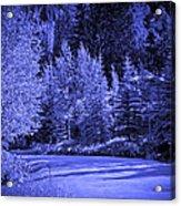 Velvet Winter - Vail - Colorado Acrylic Print