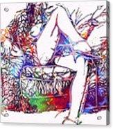 Venal Love Acrylic Print by Steve K