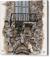Venetian Balcony 02 Elena Yakubovich Acrylic Print