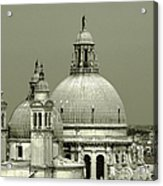 Venetian Basilica Salute Acrylic Print