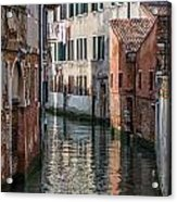 Venetian Building Acrylic Print