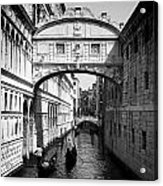 Venetian Classic Bridge Acrylic Print