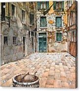 Venetian Courtyard 02 Elena Yakubovich Acrylic Print