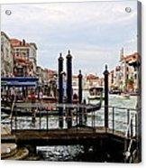 Venetian Days  Acrylic Print