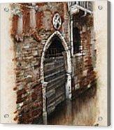 Venetian Door 03 Elena Yakubovich Acrylic Print